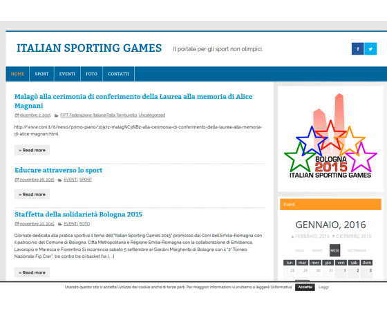 Italiansportinggames.org